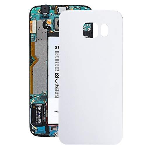 La selección de Cici La batería Cubierta Trasera for Galaxy S6 Edge / G925 (Verde) (Color : White)