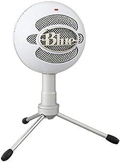 Blue Microphones Snowball ICE - Micrófono USB para grabación y transmisión en PC y Mac, cápsula de condensador cardioide, ...