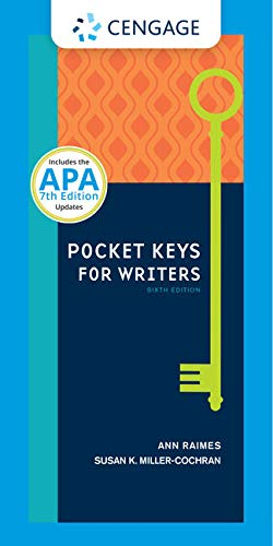 Pocket Keys for Writers with APA 7e Updates, Spiral bound Version (Keys for Writers Series)