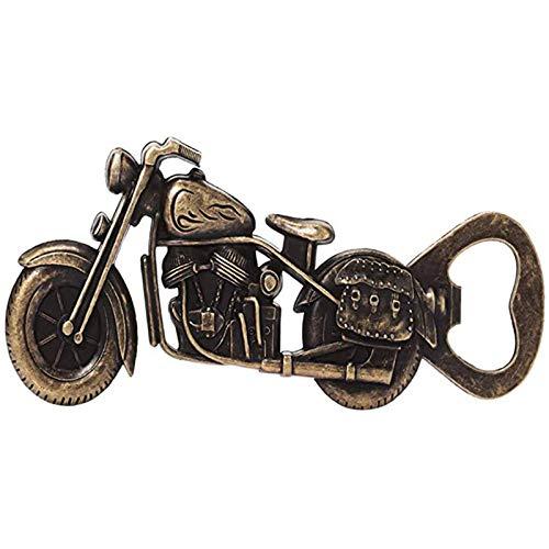 Jixista Abridor de Botellas Abrebotellas Abridor Profesional de Motocicleta Abridor De Motocicleta Abrebotellas de Cerveza de Motocicleta Abridor de Botellas Profesional de Aleación de Zin