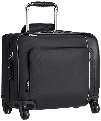 TUMI - Arrivé Carry-On 4 Wheeled Laptop Compact Brief Briefcase - 15 Inch Computer Case for Men and Women - Black