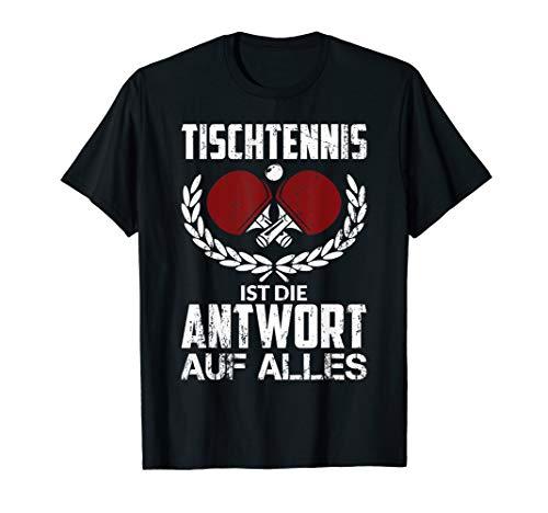 Lustiger Tischtennis-Spruch Geschenk Tischtennisspieler T-Shirt