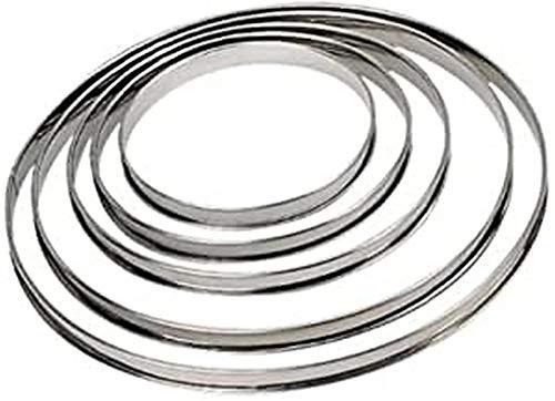 DE BUYER -3091.26N -cercle a tarte inox ht 2cmbd roule ø26