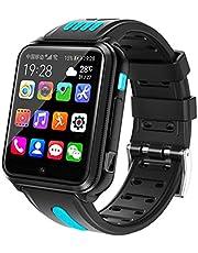 Smartwatch, Smart Smart 4G Netcom Android WIFI Vattentät Kamera Positioneringsklocka, kompatibel med Android och Ios,A