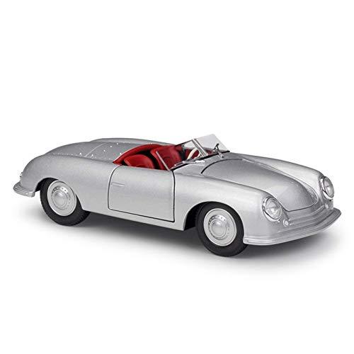 hjj Modelo Coche 1:24 1948 para Porsche 356 Aleación Modelo de automóviles Diecasts Vehículos de Juguete Recolecta Regalos Transporte Toy Casting Modelo de Coche para niños Regalo jianyou