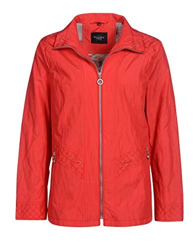 Bexleys Woman by Adler Mode Damen Jacke in Baumwollmischgewebe rot 42