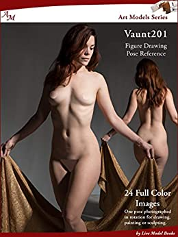 Art Models Vaunt201: Figure Drawing Pose Reference (Art Models Poses) (English Edition) van [Douglas Johnson]