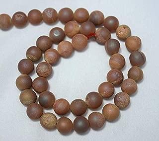 Jewel Beads Natural Beautiful jewellery 8mm Beads, Natural Agate Druzy Beads, Peach Color Druzy Beads, Round Beads, Gemstone for Jewelry 15.5 Inches StrandCode:- JBB-6693