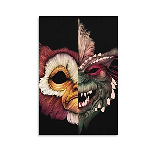 YANGNA 1-Gremlins Movie Gizmo Wall Art Picture Painting Poster Canvas Print Posters Artworks Bedroom Living Room Decor 20×30inch(50×75cm)