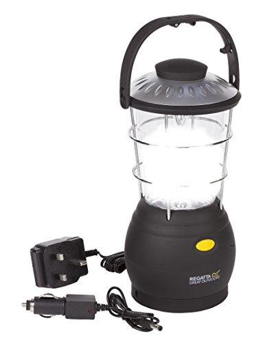 Regatta Helia 12 LED Lanterne – Noir Taille Unique Noir
