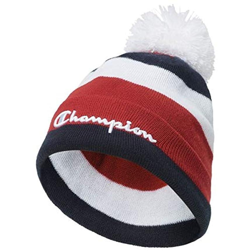 膿瘍トロリーバス宿泊(チャンピオン)Champion Script Knit Pom Beanie - Adult メンズ 帽子 [並行輸入品]