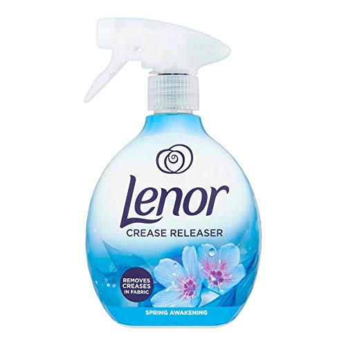 SUOL Lenor Crease Releaser Spray Removes Creases in Fabric. Spring Awakening Scent, 500 Millilitre