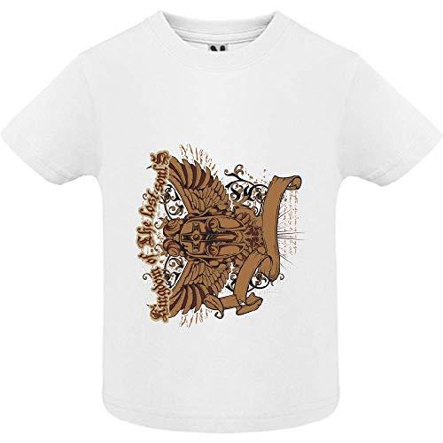 LookMyKase T-Shirt - Lost Soul - Bébé Garçon - Blanc - 12mois