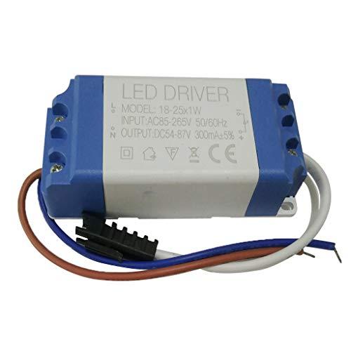 Homyl Alimentation D'énergie Downlight LED Conducteur Joint De Mur Lumière D'inondation AC85-265V 18-25 * 1W