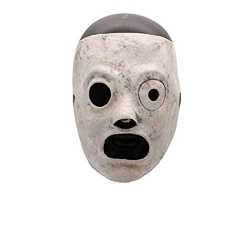 Huafuncos DJ Mask Latex Band Taylor Halloween Cosplay Prop Adjustable Accessory
