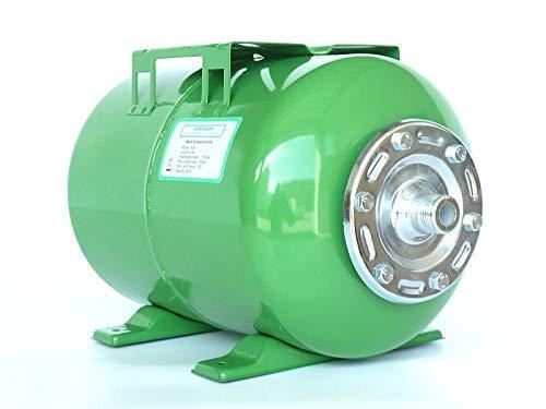 Druckkessel 24 Liter, Größe H289 x L475 x D271mm, Ausdehnungsgefäß Membrankessel Hauswasserwerk. Max. Druck 8 Bar.