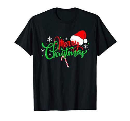 Merry Christmas Lustiges Weihnachten Geschenk Damen Herren T-Shirt