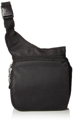 Everest Messenger Bag - Large, Black, One Siz