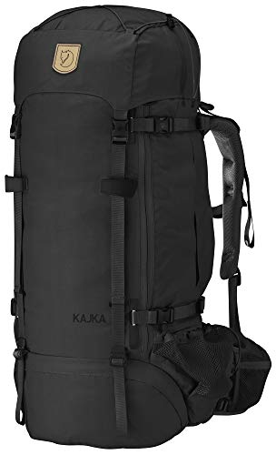 Fjallraven Kajka 65 Backpack, Unisex Adulto, Black, OneSize