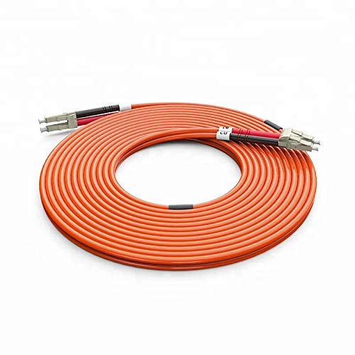 10 Meter Multimode Duplex Fiber Optic Cable (62.5/125) - LC to LC -...