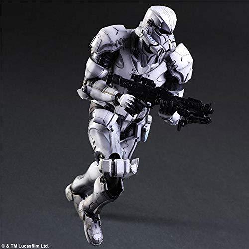 JINGLU Juguetes De Guerra De Las Galaxias Animado Figura Modelo Estatua Hecha A Mano Decoración De Colección Niños B