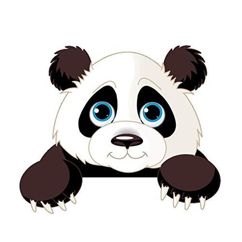 Niedlicher Elefant Kätzchen Panda Steckdose Schalter Wandaufkleber Vinyl Aufkleber Für Wohnkultur Schöne Tier Aufkleber Abnehmbar, Panda