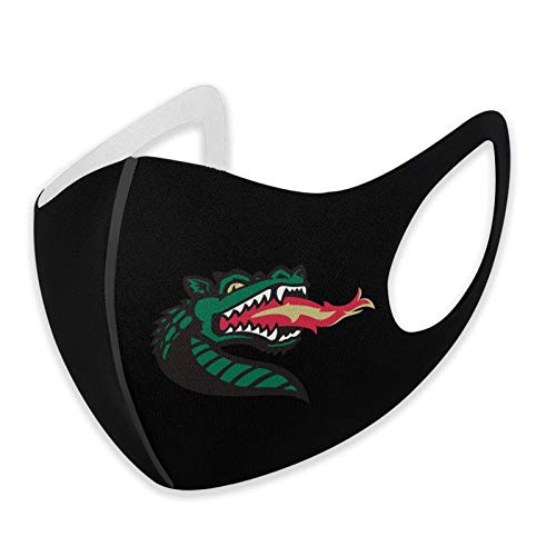 UAB Blazers Face Mask Mouth Cover Scarf Bandanas Neck Gaiter - Dust & UV Sun-Protection for Festivals and Outdoors Black