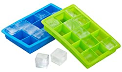 Silicone ice cube trays were used to make herb saute cubes | PreparednessMama
