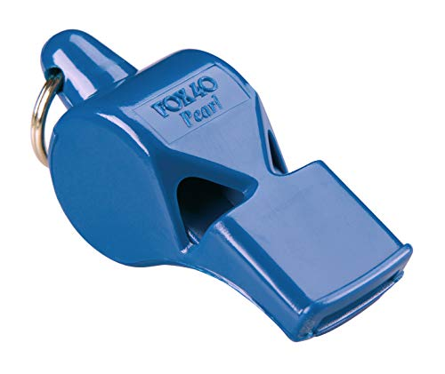 Fox 40 Pearl Whistle, Referee-Coach, Safety Alert,Dog,Rescue,Outdoor-Blu