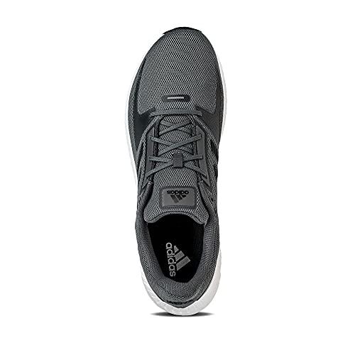 adidas Runfalcon 2.0, Road Running Shoe Hombre, Grey/Core Black/Grey, 44 EU