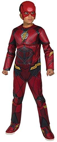 Rubies 630977-S Kostüm Flash Premium Kinder S (3-4 Jahre) Modern M (5-7 años) Rot