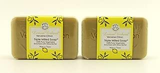 Lemon Verbena Verveine-citron Triple Milled Soap by Bisous De Provence