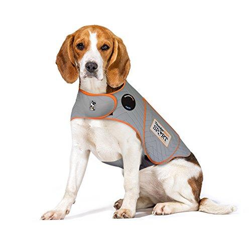 Thundershirt Sport Hund Angst Jacke, Medium (26-40 lbs), platin
