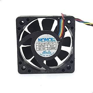DNPART Cooler Fan for G5015M12D1+6 SLV 12V 0.200A 5CM 4Wire Nonoise TV Fan
