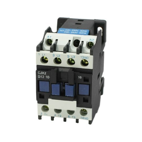 DealMux 660V 25 Amp CJX2-12 220-230V 50Hz 3 Fase 1 NA Controlador de motor AC Contactor