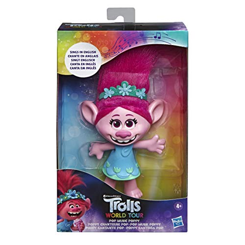 DreamWorks Trolls Pop Musik Poppy, singende Puppe, singt Trolls Just Want to Have Fun aus Trolls 2: Trolls World Tour