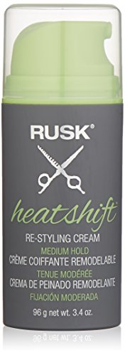 RUSK Heatshift Re-Styling Cream, 3.4 fl. oz.