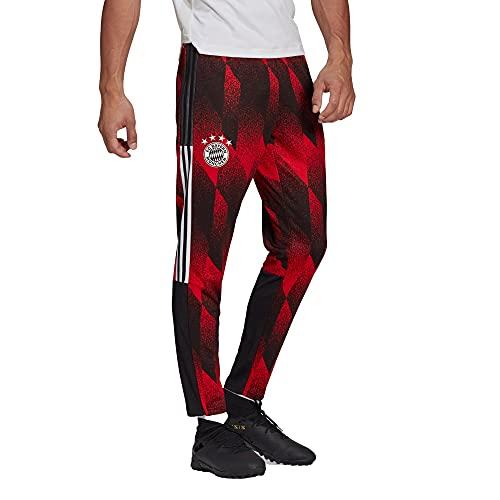 adidas FC Bayern München AOP Trainingshose Schwarz