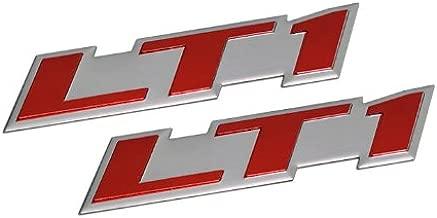 2 CHEVY CAPRICE LT1 V8 ENGINE FENDER EMBLEMS BADGES
