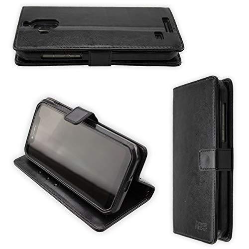 caseroxx Bookstyle- Hülle für Blackview BV9600 / BV9600 Pro, Tasche (Bookstyle- Hülle Verschiedene Varianten)
