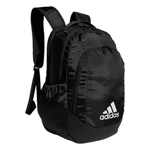 adidas Mochila deportiva unisex Defender Team, Unisex, 979425, negro/blanco, Talla única