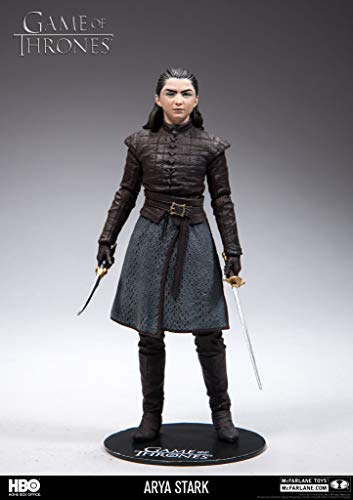 HEO GMBH- Game of Thrones Juego De Tronos Figura Arya Stark, Multicolor (MC Farlane 10654-1)