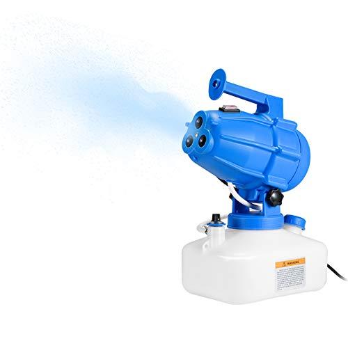 Vogvigo Pulvérisateur électrique ULV 5 L Machine portative de brumisateur Machine de désinfection de Machine à brumiser pour l'usine d'école d'hôtel de Jardin d'hôpitaux intérieurs/extérieurs
