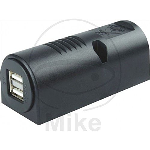 Herth+Buss stopcontact dubbele USB-opbouw 2X2500 MA 51306857 4026736397746