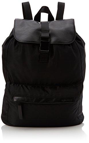 Vagabond Unisex-Erwachsene Barcelona Rucksack, Schwarz (Black), 15x38x25 cm