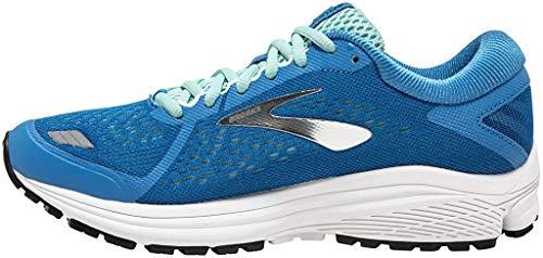 Brooks Aduro 6, Scarpe da Running Donna, Blu (Blue/Silver/White 415), 37.5 EU
