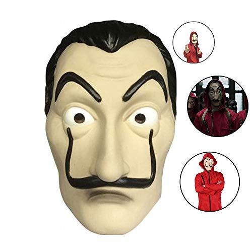 Costume La Casa De Papel, Abito per Adulti in Camera di Carta di Lino Rosso, Costume da Rapinatore La Casa di Carta per Il Costume in Maschera per La Festa di Halloween