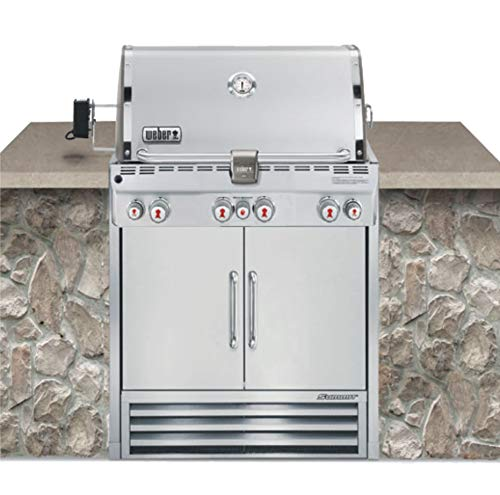 Weber Summit S-460 Built-In Liquid Propane in Stainless Steel Grill a Assembly Dining Featured Features Free Gift Grill Grills Guide: Home Kitchen Products Propane Service Weber with