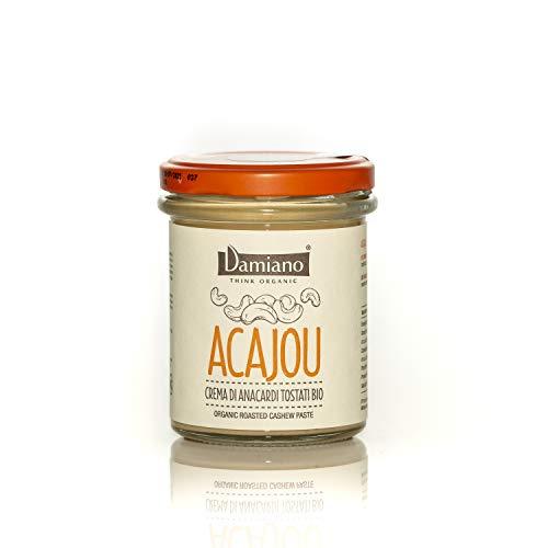 Crema Spalmabile di Anacardi Tostati Biologici - Senza Glutine e Vegan Friendly - Vasetto da 180g