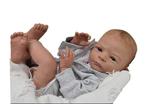 Boneco Reborn By baby Dolls molde Nele menino
